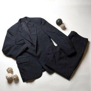 OSCAR DE LA RENTA Men's 2 Pieces Blazer Suit Large
